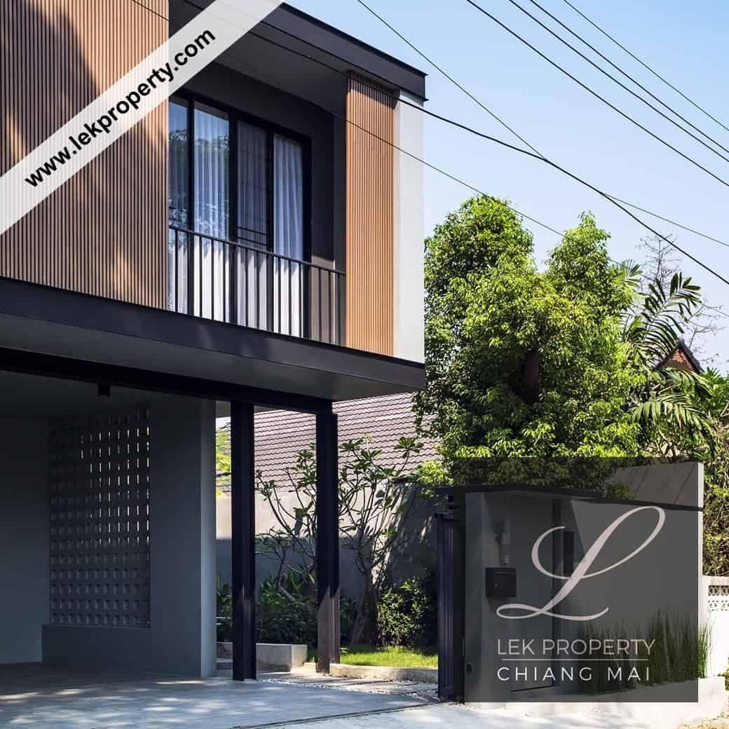 Custom-Built Luxury Villa with Pool in Chiang Mai Thailand (H114)