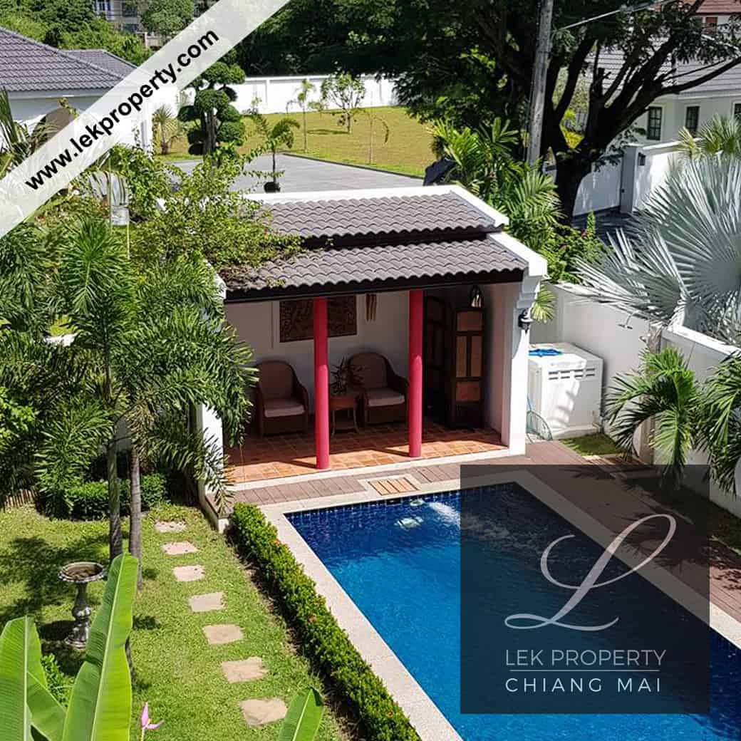 Private Pool Villa For Sale In Chiang Mai (H116)