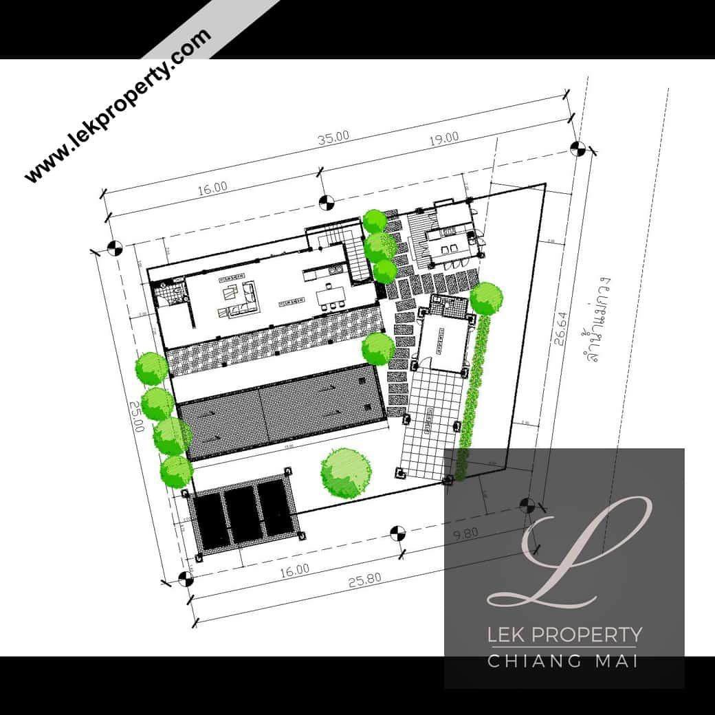 Lekproperty.com Chiang Mai House Land Condo Villa Pool Buy Sell Rent H104003