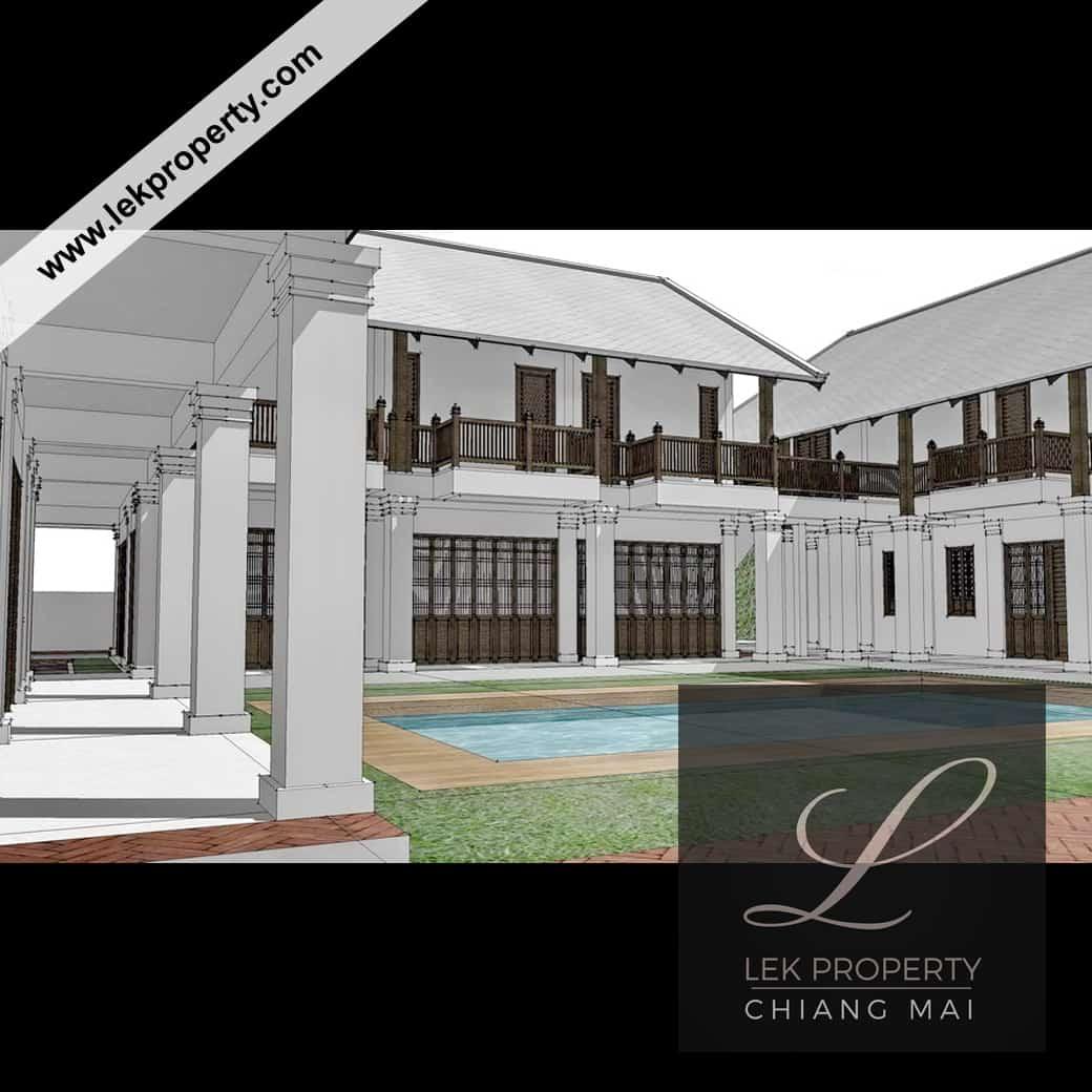 Lekproperty.com Chiang Mai House Land Condo Villa Pool Buy Sell Rent H105006