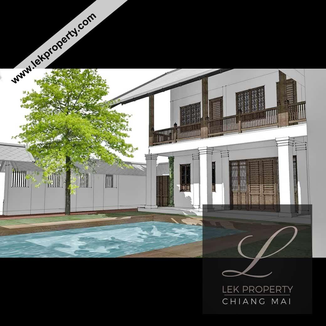 Lekproperty.com Chiang Mai House Land Condo Villa Pool Buy Sell Rent H105007