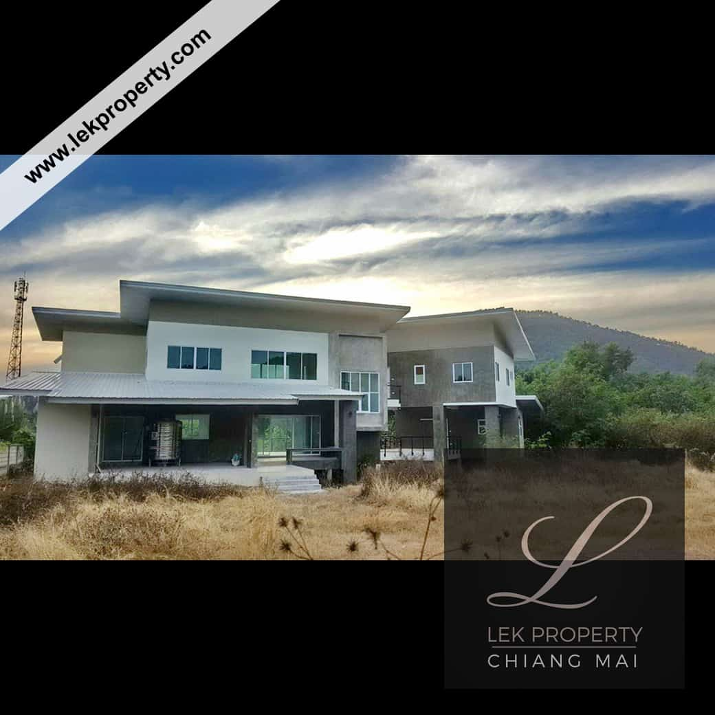 Uncompleted Villa on Large Land Near Chiang Mai (H106)