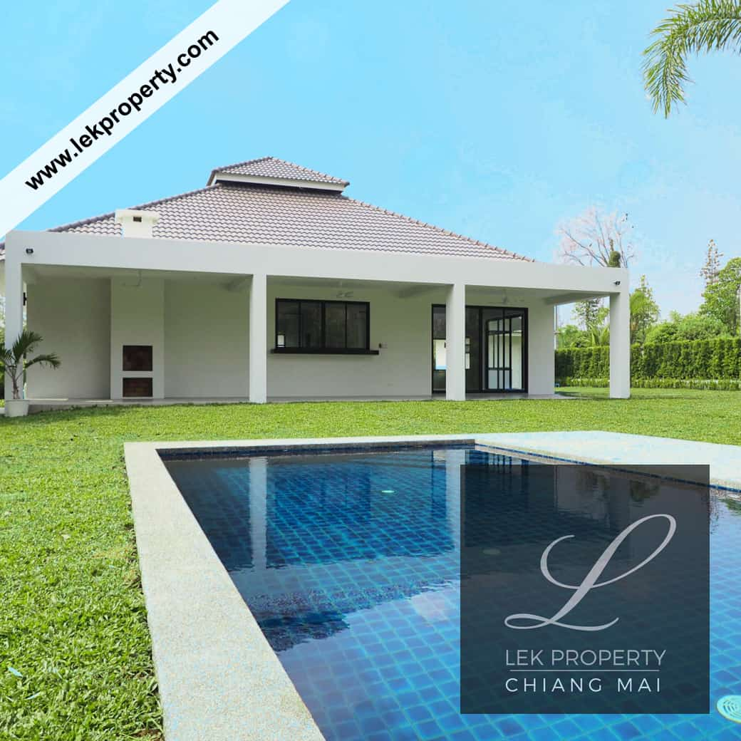 4 Bedroom Pool Villa For Sale in Chiang Mai (H122)
