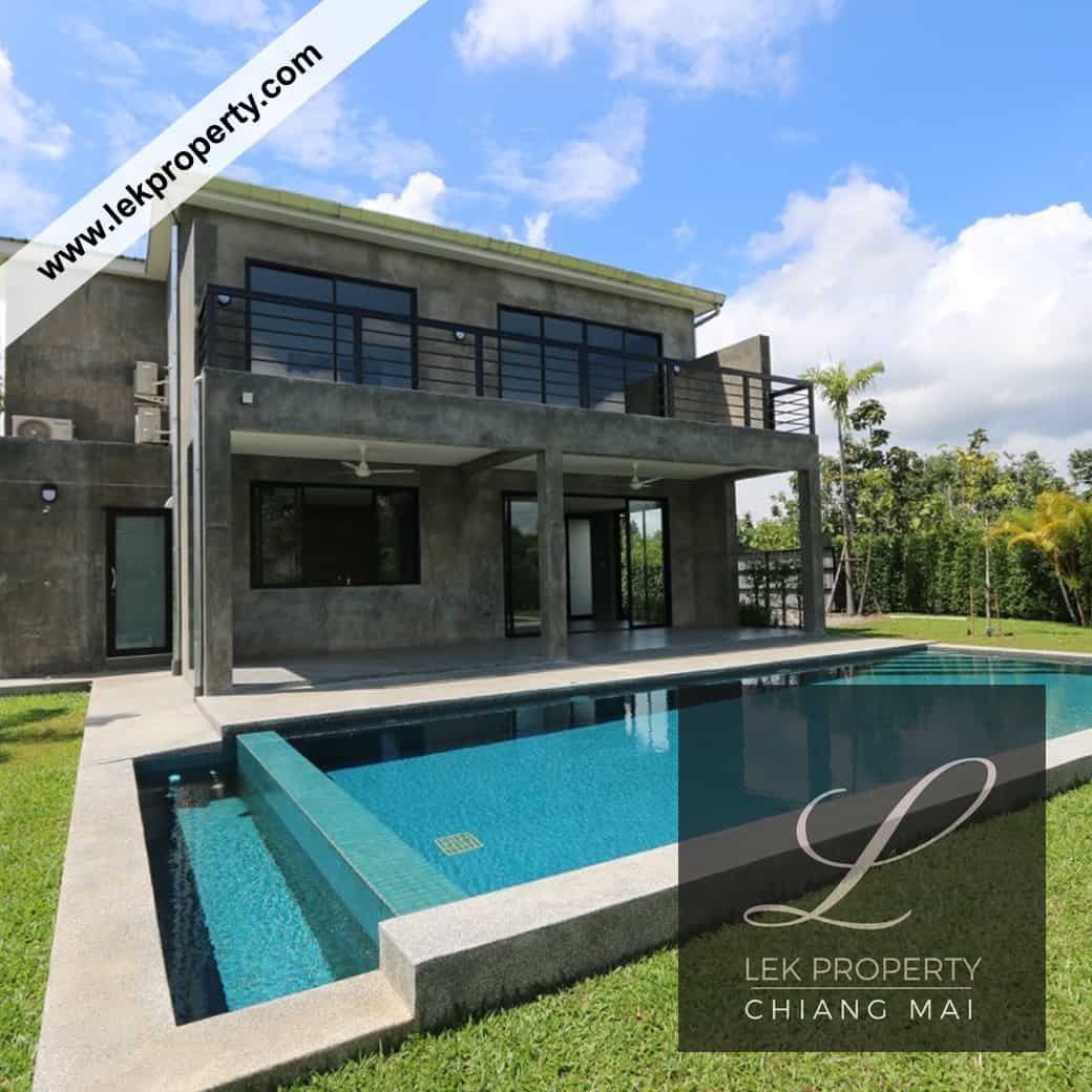 Modern House With Private Pool For Sale (H120)