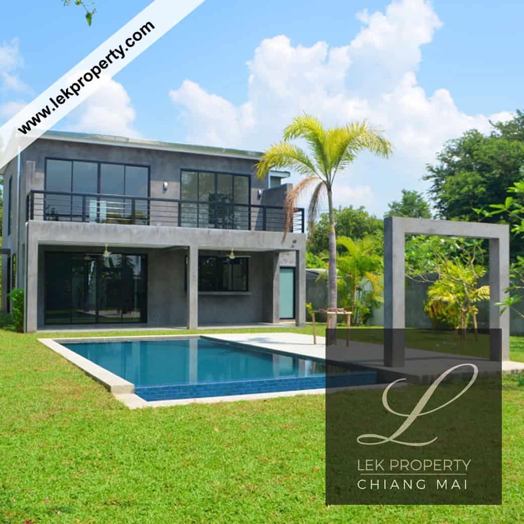 3 Bedroom Pool Villa In Chiang Mai For Sale (H123)
