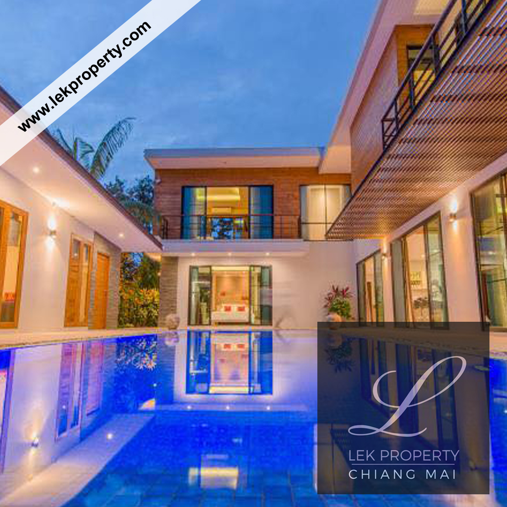 Modern style 4 bedroom Pool Villa For Sale (H124)